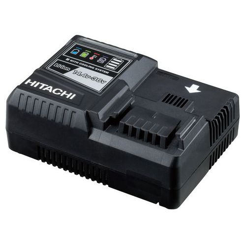 Chargeur pour batterie Hitachi Li-Ion 14,4-36V à glissière