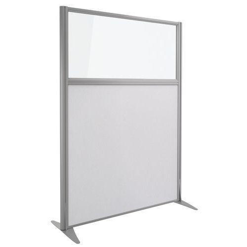 Cloison acoustique Kprim - Textile et verre - Hauteur 165 cm