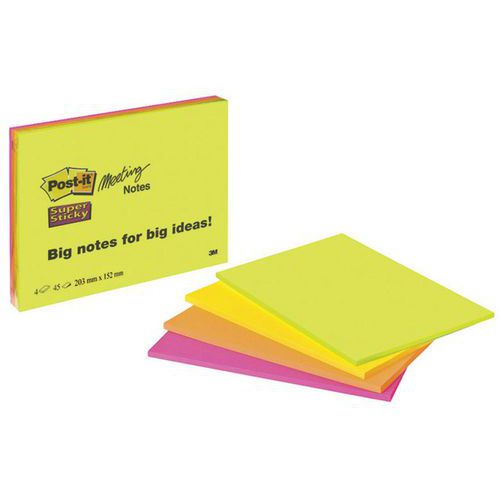 Notes Post-it® grands formats