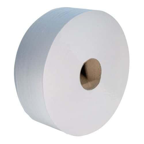 Papier toilette Maxi et Mini jumbo