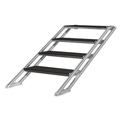 escalier hauteur ajustable pour podium. Black Bedroom Furniture Sets. Home Design Ideas
