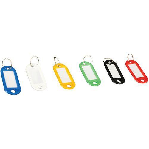 Porte-clés étiquette - Manutan