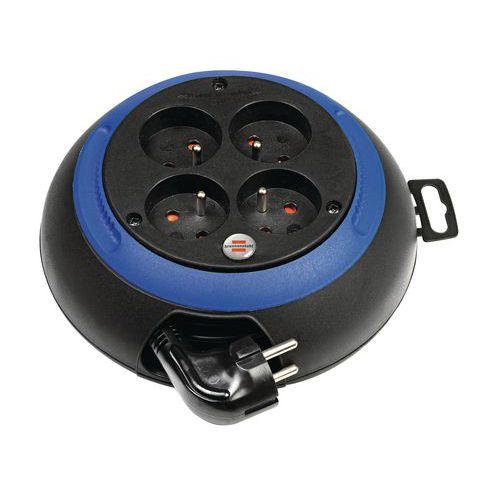 Enrouleur 4 prises 3m H05VV-F 3G1,0