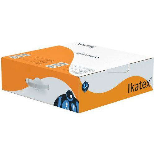 Chiffon blanc textile à plat - boîte distributrice -Ikatex