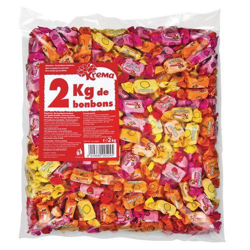 Bonbons Krema Regalad- Sachet vrac 2KG