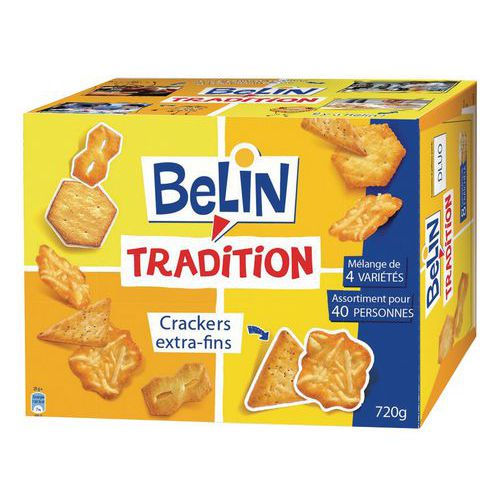 Biscuits apéritifs BELIN TRADITION 720 G