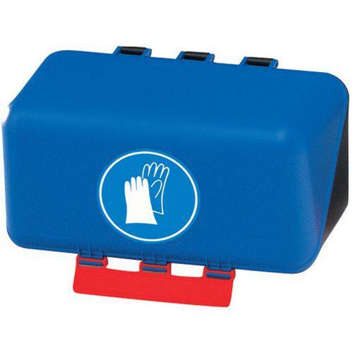 Boîte de rangement des EPI - Mini gants - Manutan.fr