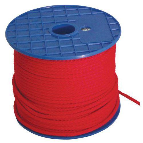 Drisse polypropylène couleur - Rouge