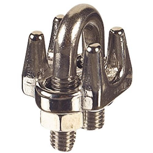 Croissant Serre-câble à étrier en acier - Manutan.fr ZF-05