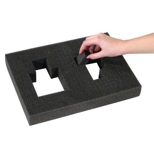 bloc de mousse pr d coup. Black Bedroom Furniture Sets. Home Design Ideas