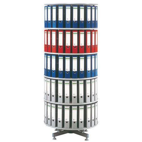 Colonne à classeurs rotative - Diamètre 80 cm