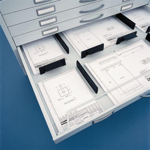 Séparateur pour armoire à tiroirs à dessins - Kind