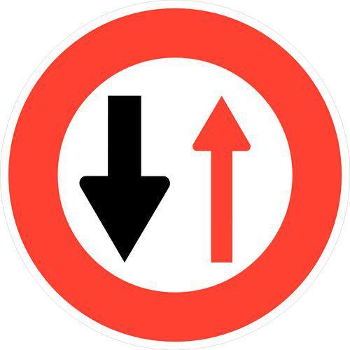 panneau de signalisation d 39 interdiction b15 c der le passage. Black Bedroom Furniture Sets. Home Design Ideas
