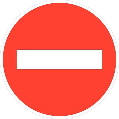 Panneau de signalisation d 39 interdiction b1 sens - Panneau signalisation interdiction ...