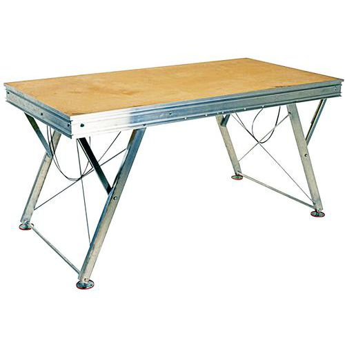 Podium hauteur r glable for Hauteur table a manger standard