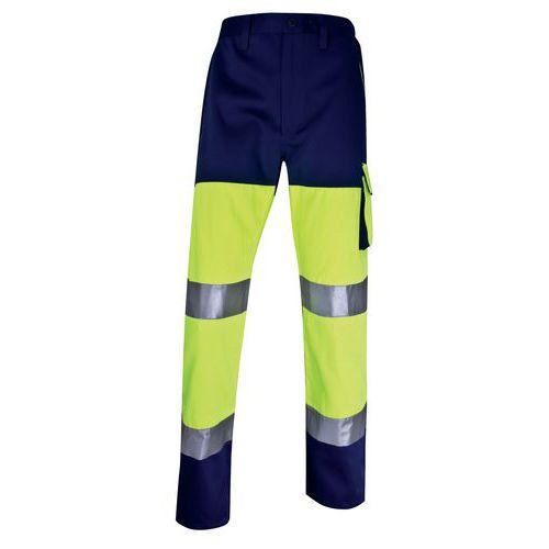Pantalon de travail haute visibilité - Jaune