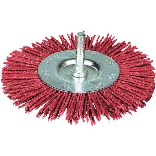Brosse fil abrasif - Circulaire - Grain fort
