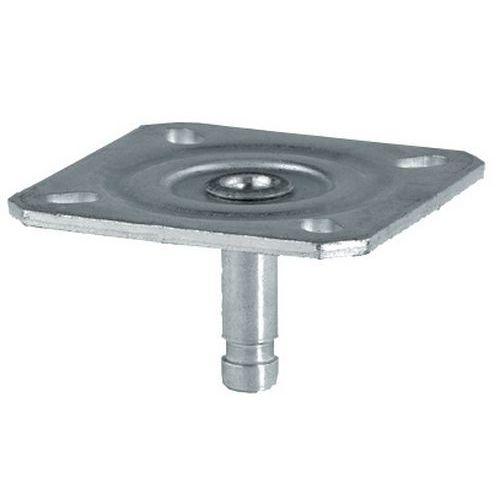 Roulette pour meuble platine - Roulettes industrielles pour meubles ...