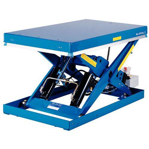 Table élévatrice fixe BX-10 ergonomique - Capacité 1000 kg