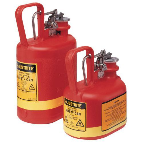 Bidon de sécurité - Capacité 2 et 4 L