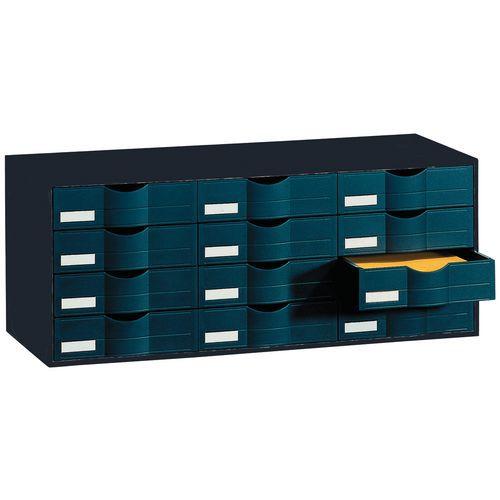 Bloc à tiroirs - Noir - Paperflow