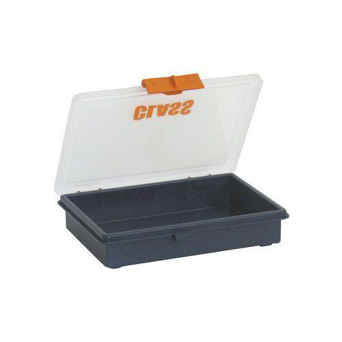 Boîte à compartiments fixes