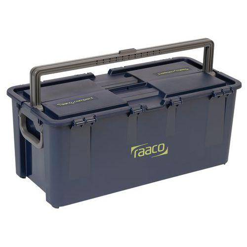 Boîte à outils compacte - Avec poignées centrale et latérale