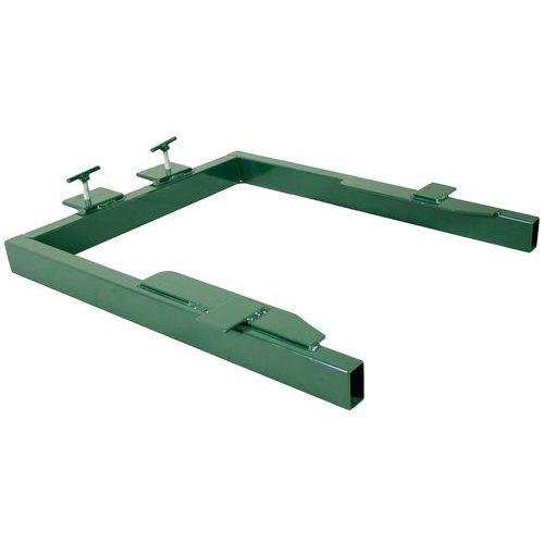 Adaptateur pour équipement de levage et de basculement - Pour conteneur de 120 L