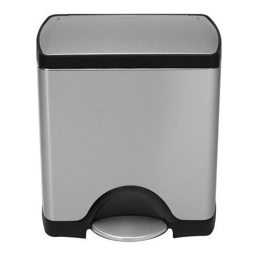 poubelle p dale simplehuman rectangular 38 46 et 50. Black Bedroom Furniture Sets. Home Design Ideas