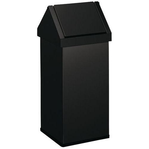 poubelle avec couvercle basculant de 110 litres. Black Bedroom Furniture Sets. Home Design Ideas