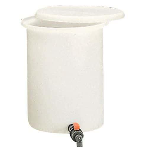 Bac de soutirage cylindrique - 100 à 210 L