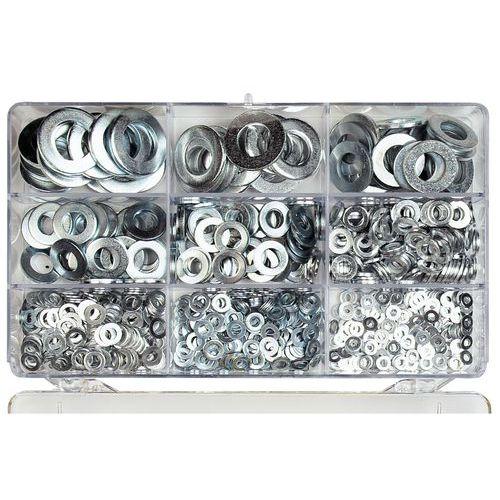 Coffret de rondelles plates - 825 pièces