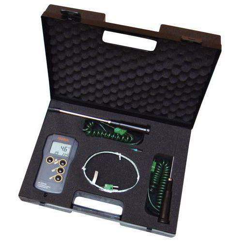 Kit thermomètre HI 935005 + 4 sondes + mallette