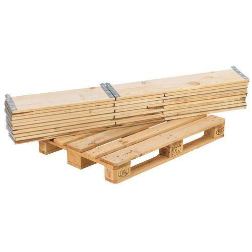 Rehausse palette bois ISPM 15 Pliante 1200 x 800 mm Manuta # Rehausse Palette Bois
