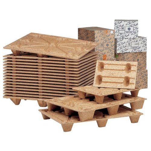 Palette en fibre de bois - Largeur 800 mm