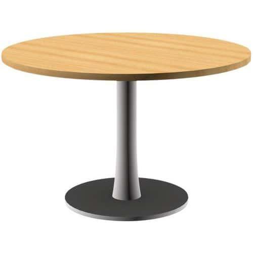 Table de réunion Open - Hêtre/ blanc