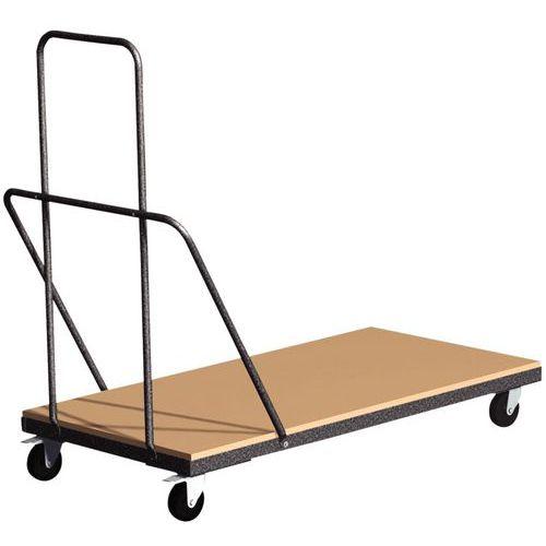 Chariot de transport - Pour table pliante