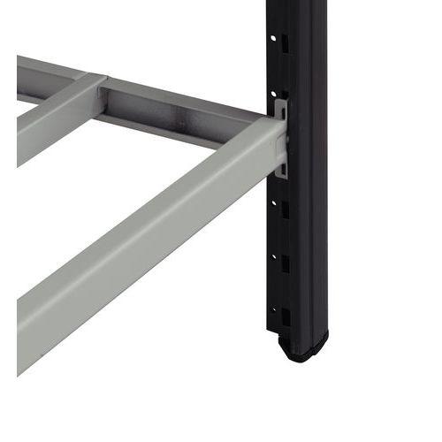 Tablette tubulaire Combi-Fix - Largeur 1250 mm