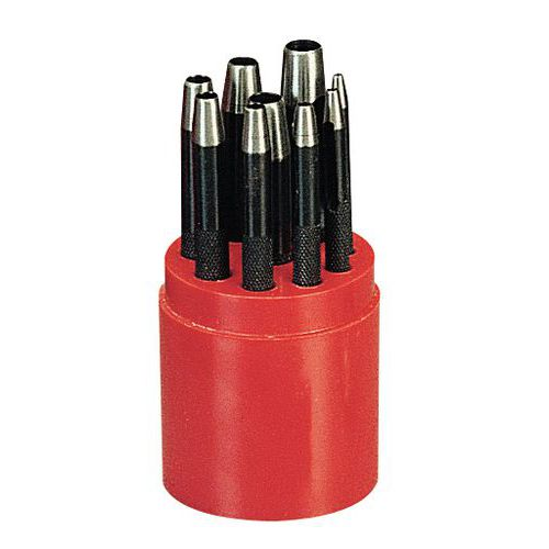 Emporte-pièce - Jeu de 9 - Ø 2 à 10 mm