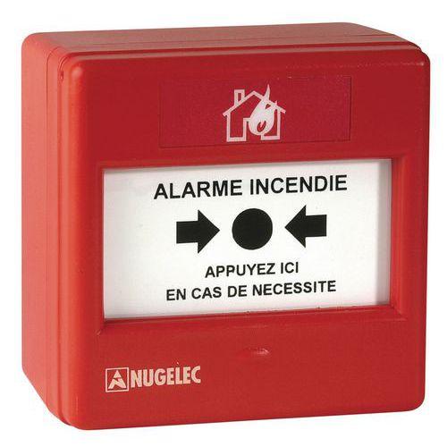 Alarme incendie - Déclencheur manuel