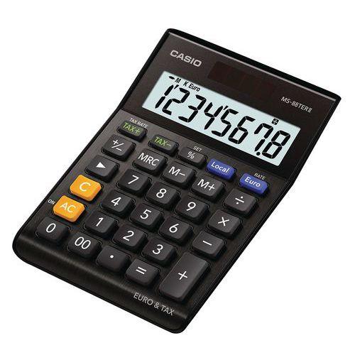 Calculatrice de bureau Casio MS88TERII Manutanfr