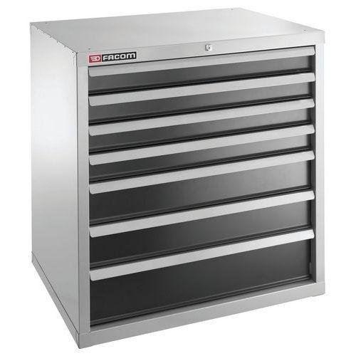 meuble industriel charges lourdes 7 tiroirs