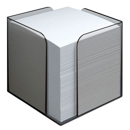 Bloc cube transparent 850 feuilles