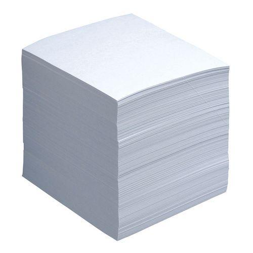 Recharge 850 feuilles pour bloc cube transparent