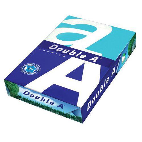 Papier Double A - A4 - 80 g/m² - Ramette de 500 feuilles