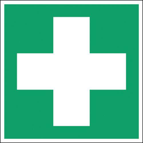Panneau secours et évacuation carré - Premier secours -Rigide