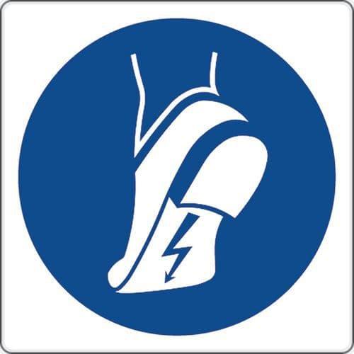 Des Port Chaussures Antistatiques Obligation Aluminium Panneau tohQCsrdxB