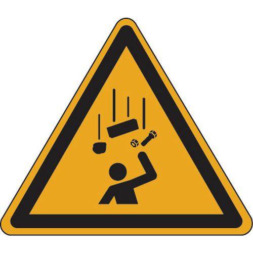 panneau danger chute dobjets aluminium manutanfr