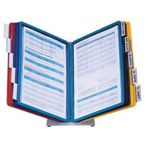 Pupitre de table Vario - 10 pochettes assorties A4