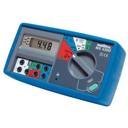 Contr le d 39 installation lectrique mx 435d - Verifier installation electrique ...